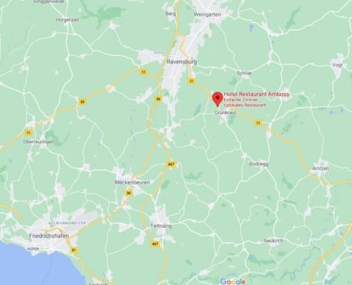 Hotel Ravensburg Maps